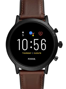 Fossil Gen 5 Carlyle Touchscreen Men's Smartwatch with Speaker, Heart Rate, GPS and Smartphone Notifications - FTW4026