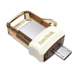 SanDisk Ultra Dual 64GB USB 3.0 OTG Pen Drive (Gold)