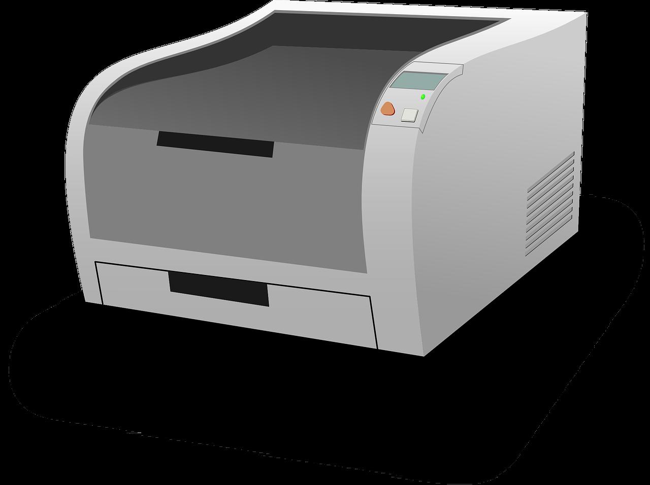 printer, laser printer, computer