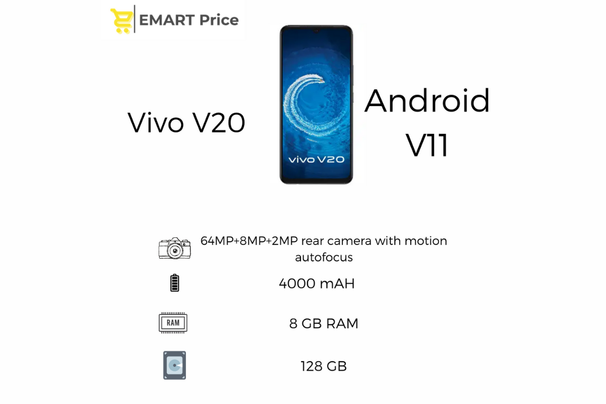 Emartprice-Vivo V20 Specifications, Prices, Descriptions