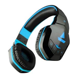 boAt Rockerz 510 Bluetooth On-Ear Headphone with Mic(Furious Blue)