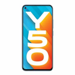 Vivo Y50 (Pearl White, 8GB RAM, 128GB Storage)