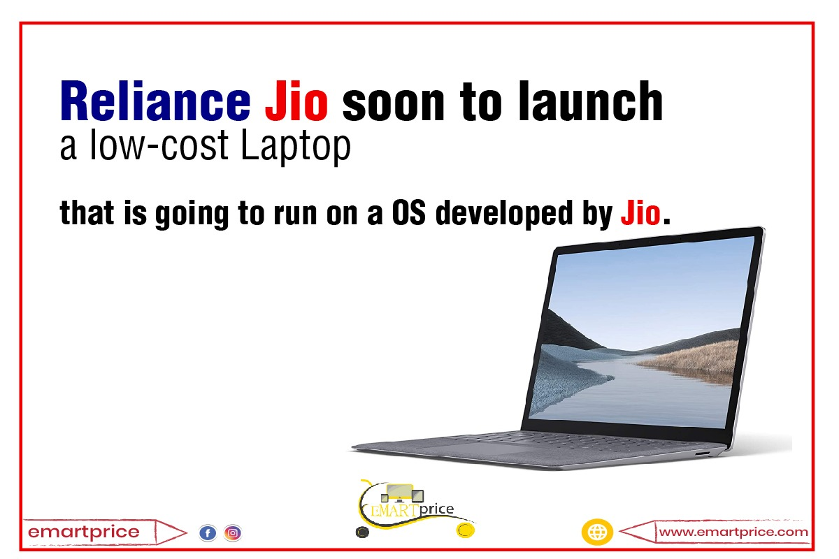 Reliance Jio soon to launch budget-friendly laptops with JioOS