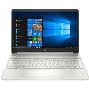 "HP 15 (2021) Thin & Light Ryzen 3-3250 Laptop, 8 GB RAM, 1TB HDD + 256GB SSD, 15"" (38.1 cms) FHD Screen, Windows 10, MS Office (15s-gr0012AU)"